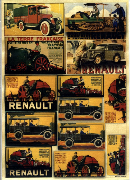 Craftime A4 With Men in Mind Renault